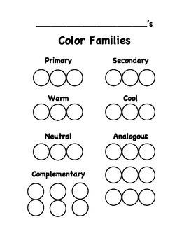 Color Families