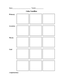 Color Families Worksheet