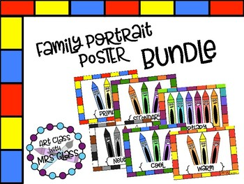 Color Family Posters Bundle