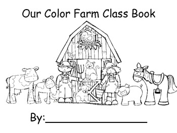 color farm class book freebie by sandy s learning reef tpt