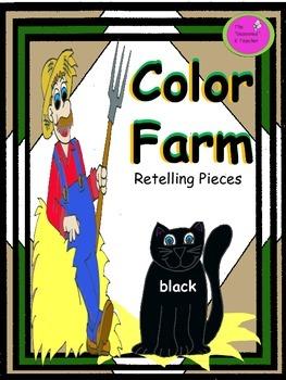 Color Farm Retelling Pieces