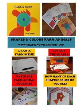 Color Farm-Shapes and Colors