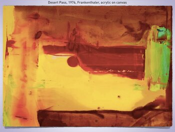 Color Field ~ Post Painterly ~ Lyrical Abstraction ~ Painting ~ 187 Slides