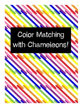 Color Matching File Folder - Chameleon Theme