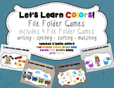 Color File Folder Games