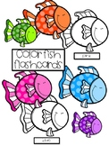 Color Fish Flashcards