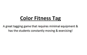 Color Fitness Tag