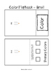 Color Flapbook for Interactive Notebook/Sketchbook