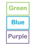 Color Flash Cards
