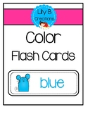 Color Flash Cards - Little Mice