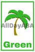 Color Flash Cards - by AllDayABA