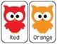 Color Flashcards - Owl Design