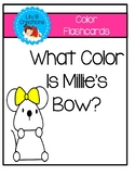Color Flashcards - What Color Is Millie's Bow?