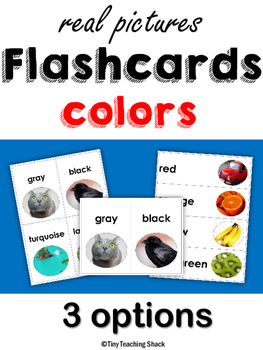 Color Flashcards with Real Photos