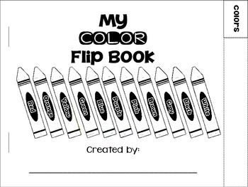 Color Flip Book