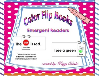 Color Flip Books Easy Readers