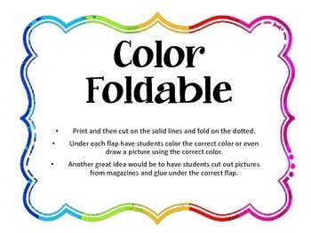 Color Foldables / Lapbook