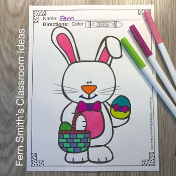 Spring Coloring Pages - A Four Pack Coloring Book Bundle