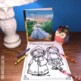 Coloring Pages for Fairy Tales and Cute Kids Too!