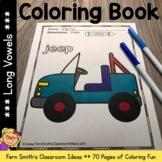 Long Vowels Coloring Pages - 70 Pages of Long Vowel Colori