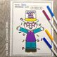 Coloring Pages for New Years and the 100th Day Bundle