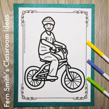 PE Sports Coloring Pages