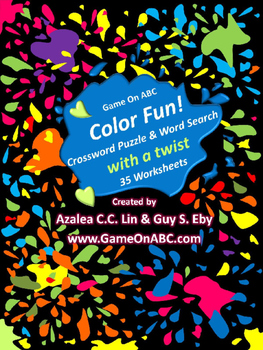 Color Fun 35 Twisted Wordsearch & Crossword Puzzles