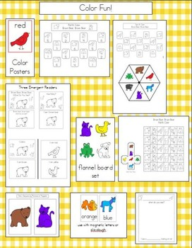 Color Fun With Brown Bear, Brown Bear!