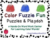 Color Fuzzie Fun Puzzles & Playdoh Activity Pack