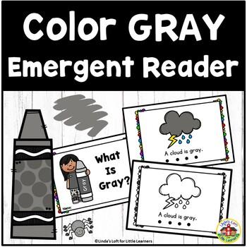 Color Gray Emergent Reader