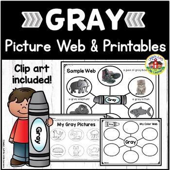 Color Gray Picture Web Activity