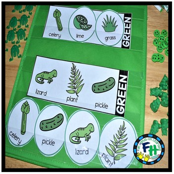 Color Green Activity Pack for PRESCHOOL