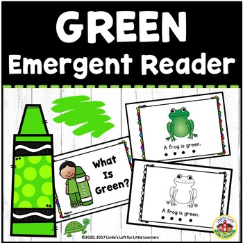 Color Green Emergent Reader