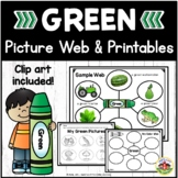 Color Green Picture Web Activity