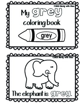 Color Grey/Gray Book