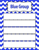 Color Group One Sheet