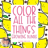 Color ALL The Things: Coloring Book Volume 1