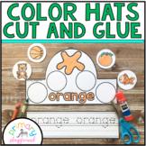 Color Hats Cut and Glue