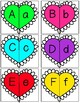 Color Hearts Letter Matching