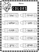 Color Identification Coloring Page