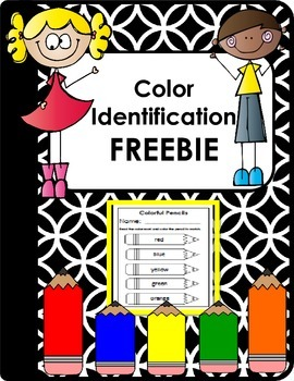 Color Identification FREEBIE