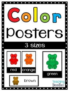 Color Posters in 3 Sizes