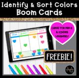 Color Identification   Sort Boom Cards