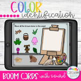 Color Identification and  Boom Cards Distance Learning