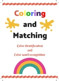 Color Identification and Color Word recognition