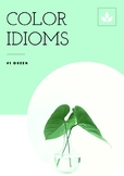 Color Idioms: Green