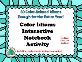 Color Idioms Interactive Notebook