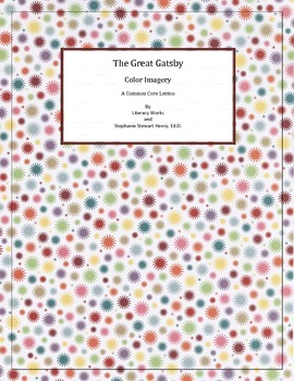 Color Imagery in The Great Gatsby