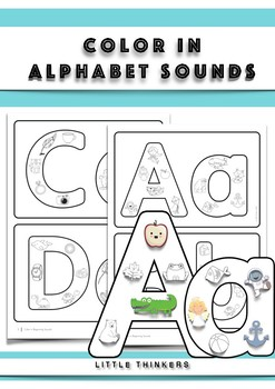 Color In Alphabet Sounds