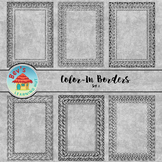 Color-In Borders Set 1